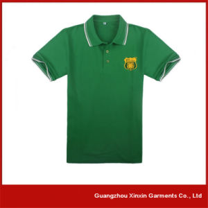 Custom Made Good Quality Cotton Collar Shirts for Men (P43) pictures & photos