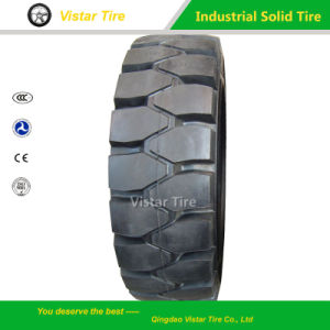 Wanli Brand Forklift Solid Tyre 4.00-8 pictures & photos