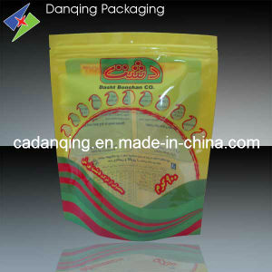 Plastic Flexible Packaging Stand up Bag with Zip Lock (DQ0066) pictures & photos