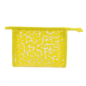 Wholesale Clear PVC High Quality Fashion Leopard Printed Travel Cosmetic Bag pictures & photos