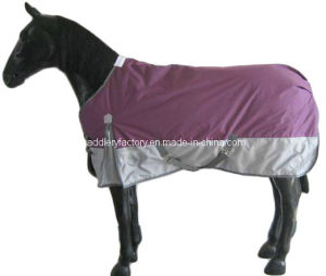 Purple Silver Horse Rug Smile Saddlery (SMR1515) pictures & photos
