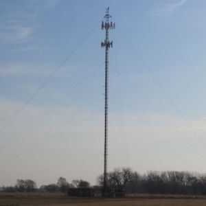 Galvanized Steel Tube Custom-Made Telecom Tower pictures & photos