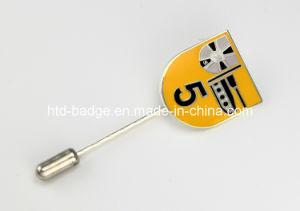 Custom Made Enamel Metal Badge with Long Pin (PN091)