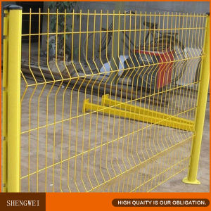 3D Curved Welded Wire Mesh Garden Fence pictures & photos