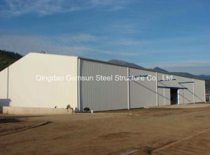 Good Insulation Steel Structure Workshop (SL-0055) pictures & photos