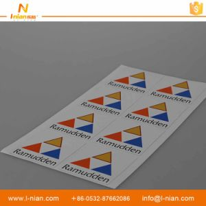 Custom Printing Waterproof Company Logo Advertising Sticker Labels