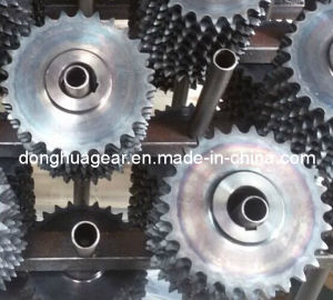 Industrial Transmission Carbon Steel C45 Sprocket Wheel pictures & photos