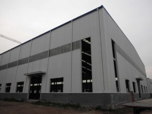 Construction Design Steel Frame Structure Warehouse Drawing pictures & photos