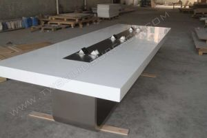 Modern Design Conference Table Boardroom Office Table pictures & photos