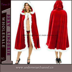 Women Sexy Santa Adult Xmas Christmas Holiday Costume (TL10719) pictures & photos