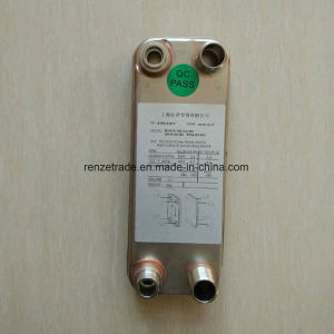 HVAC District Heating & Cooling Copper Brazed Plate Heat Exchanger pictures & photos