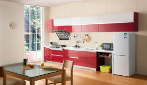 High Gloss Lacquer Kitchen Cabienet for House Project (zz-017) pictures & photos