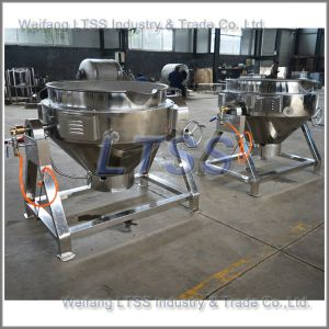 Natural Gas Heating Cooking Pot for Sale pictures & photos