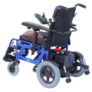 Aluminum Foldable Power Wheelchair (EPW61) pictures & photos