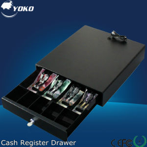 Yk-335 Interface Optional Costeffective Dark Cash Drawer with 3 Position Key Lock pictures & photos