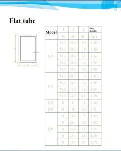 Aluminium Flat Tube