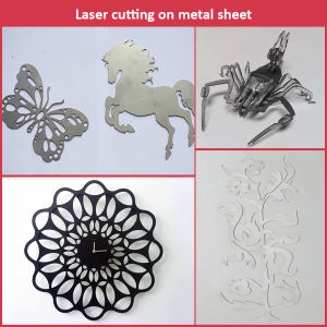 Best Laser System Glasses Frame Metal Hardware Machine Titanium Laser Cutting Machine pictures & photos
