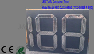 Square LED Traffic Signal Countdown Timer 2 and Half Digit pictures & photos