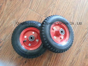 8 Inch Pneumatic Wheel for Hand Trolley pictures & photos