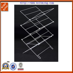 Metal Wire Folding Towel Rack (WK120790-4)