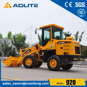 Aolite Wheel Pay Loader with Pallet Fork pictures & photos