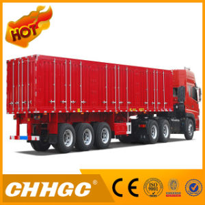 Special Van Type Semi-Trailer for Carrying Coal/Clinker/Cement pictures & photos
