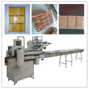 Multi Row Biscuit Packing Machine with Feeder pictures & photos