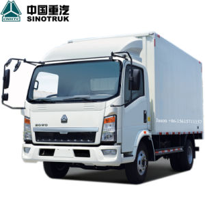 HOWO 4X2 84PS 3t 10.8FT Cargo Truck pictures & photos