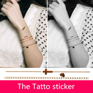 Professional and Home Use Body Tatto Sticker Nail Art Decoration