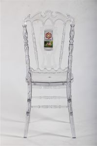 Acrylic High Back Wedding Royal Chairs pictures & photos