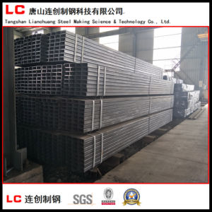 Oiled Black Square Steel Pipe with Water Proof Fabric pictures & photos