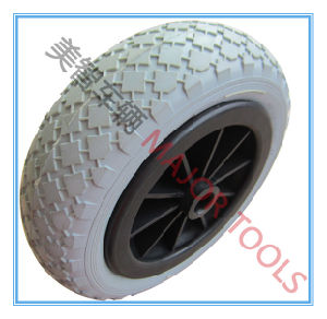 300-6 PU Foam Wheel for Wheelbarrow; in Flation-Free pictures & photos