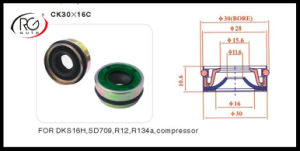 Auto AC Compressor Shaft Seal Clutch Shaft Seal Oil Shaft Seal for Dks16h, 709 pictures & photos