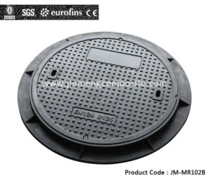 BS EN124 600mm B125 Composite Manhole Cover with Screw Lock pictures & photos