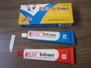 Flexible Super Ab Glue for Reparing Machine Metal Parts pictures & photos