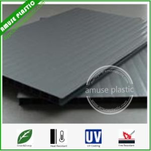 Hot Sell UV-Protection Grey Triple-Wall PC Hollow Layers Compact Sheet pictures & photos