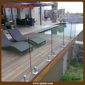 Frameless Glass Railing / Glass Spigot Balustrade Stainless Steel (SJ-S428) pictures & photos