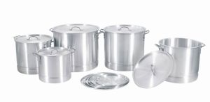 Cookware / Aluminum Stock Pot Set with Steamer (MY20-64--5) pictures & photos