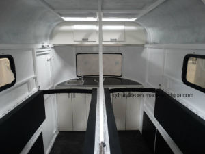 3 Horse Angle Load Float-Deluxe Horse Trailer Horse Float Loading pictures & photos