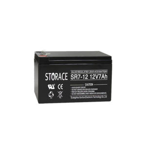 Lead Acid Battery Sr7-12 Small Toy Battery 12V 7ah pictures & photos