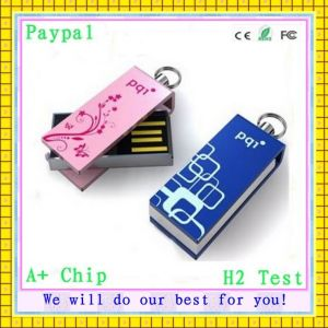 with Custom Logo Mini USB Flash Drive (GC-M663) pictures & photos