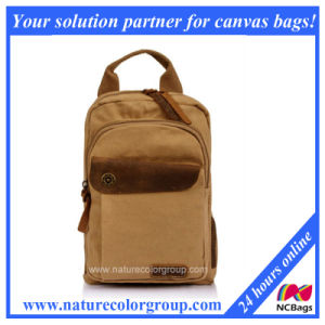 High Quality Fashion Canvas Backpack (SBB-022) pictures & photos