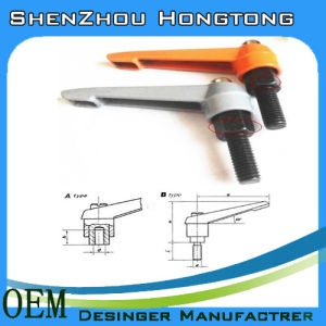 Aluminum Alloy Adjustable Handle for Dyeing and Finishing Machinery pictures & photos