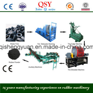 Semi Automatic for Waste Tire Recycling to Rubber Powder Line pictures & photos