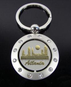 Senic Spot Tourism Souvenir Zinc Alloy Metal Keyring pictures & photos
