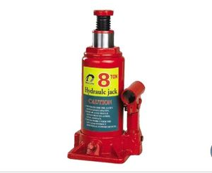 8 Ton SGS Approved Max Height 385mm Hydraulic Bottle Jack