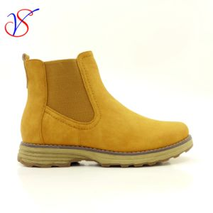 Three Color Men Women Safety Working Work Shoes Boots Sv-Wk-007-Tan pictures & photos