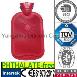 BS1970: 2012 Rubber Hot Water Bottle Medical Therapy Bag