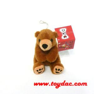 Plush Brown Bear Key Ring (TPXX0388) pictures & photos
