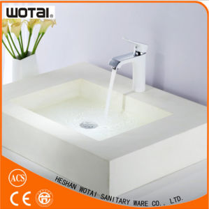 Single Handle Wash Basin Faucet Bathroom Basin Faucet pictures & photos